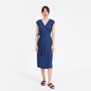 The Japanese GoWeave Short-Sleeve Wrap Dress